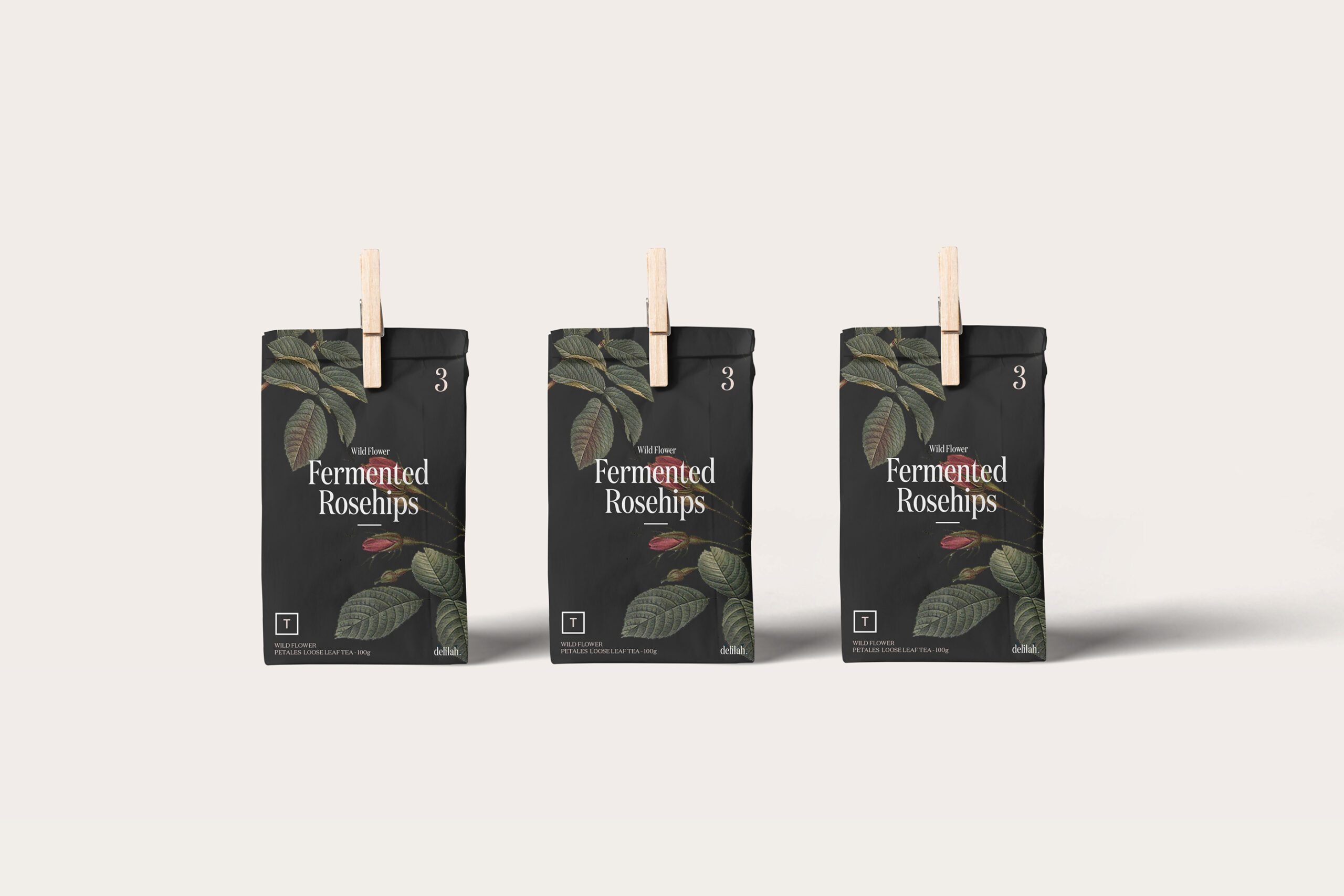 11Tea Packages for Delilah Monograph&Co