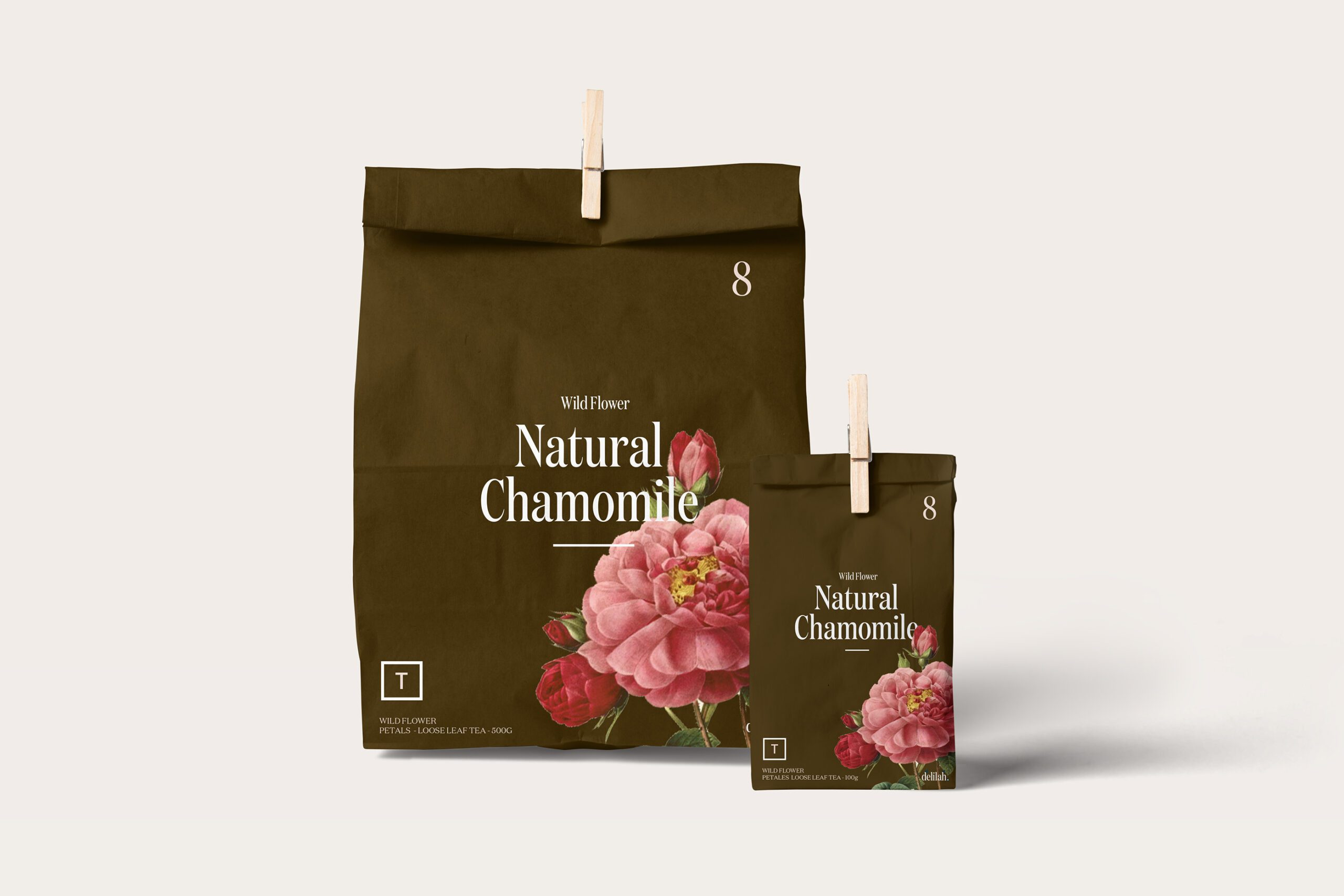 11Floral Design Coffee Packaging Vancouver Canada