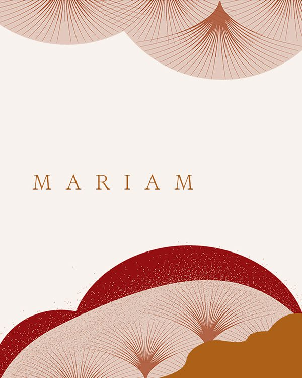 11Illustration for Mariam Fashion Branding by Monograph&Co Vancouver